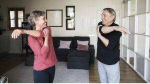 tabla de ejercicios para mayores de 50 años