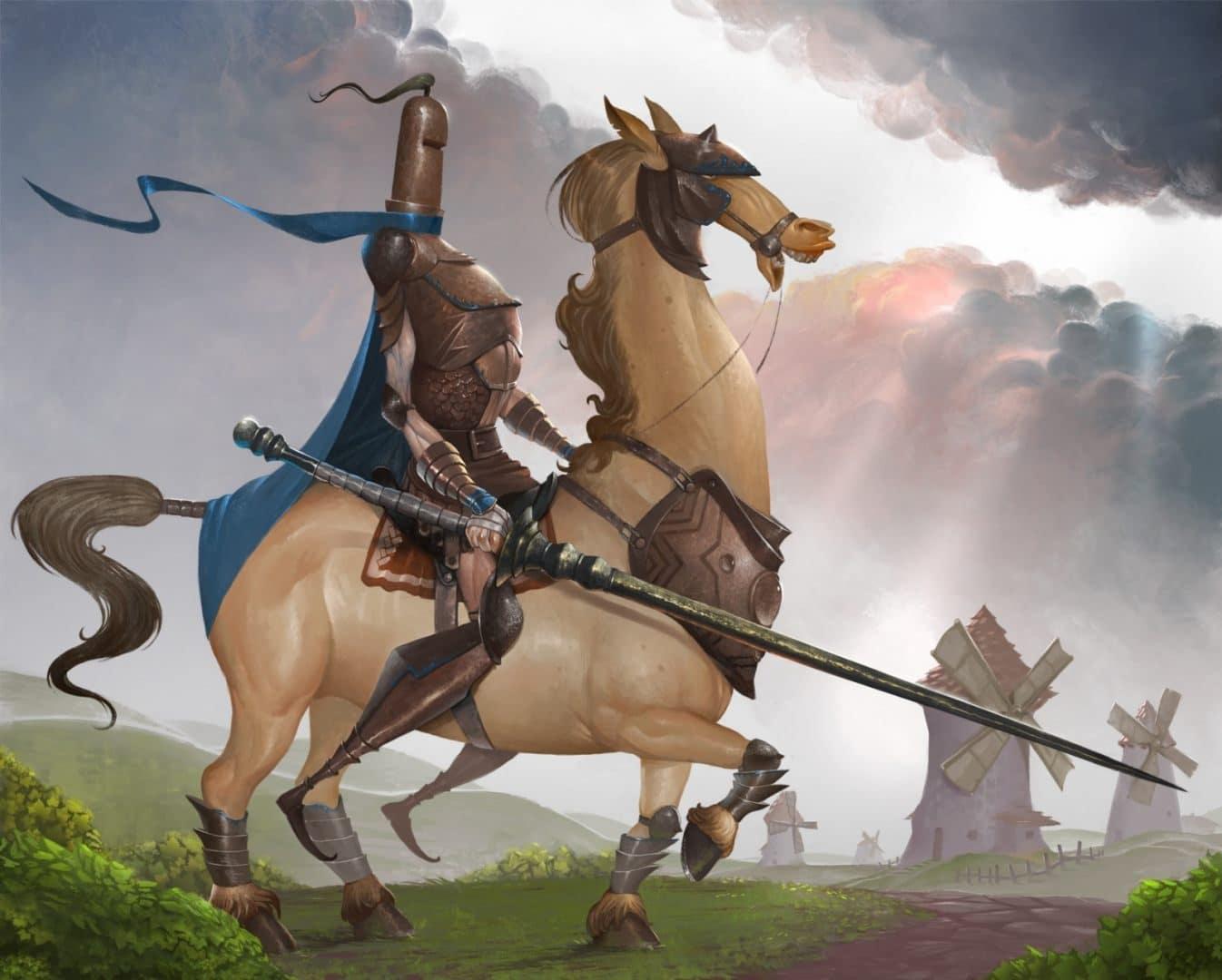 su caballo